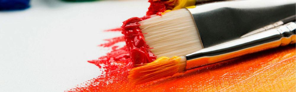 Cours de peinture à l'association RIFF de Colombier Saugnieu