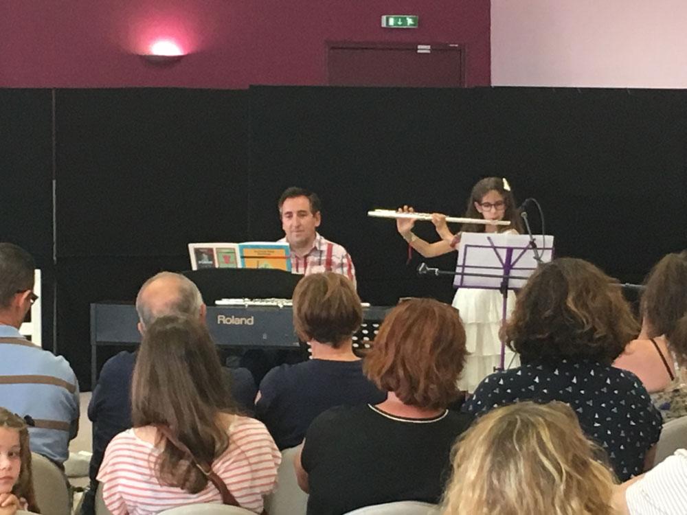 Juin 2018 - Audition - Flûte