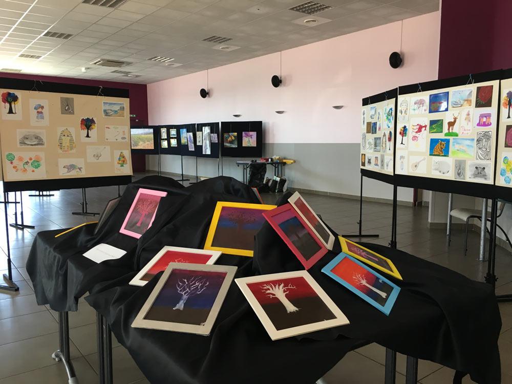 Juin 2018 - Expo - Peinture et dessin